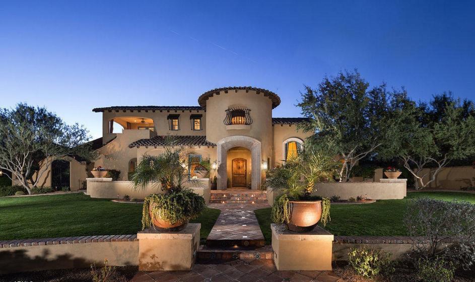 $2.695 Million Spanish Colonial Home In Scottsdale, AZ