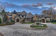 $3.1 Million Stone & Brick Home In Cornelius, NC