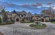 $3.1 Million Stone & Brick Home In Cornelius, NC