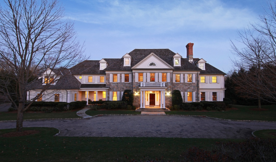 12,000 Square Foot Georgian Colonial Mansion In Greenwich, CT