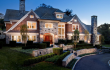 $5.295 Million Stone & Shingle Home In Cos Cob, CT
