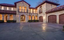 $3.95 Million Mediterranean Stone Mansion In Dallas, TX