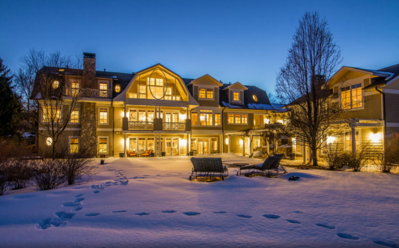 10,000 Square Foot Shingle Style Mansion In Cherry Hills Village, CO
