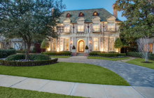 $3.4 Million French Inspired Brick Home In Dallas, TX