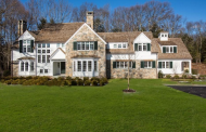 $5.155 Million Newly Built Stone & Shingle Colonial Mansion In Weston, MA