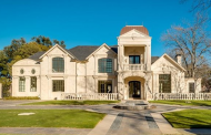 13,000 Square Foot Newly Built European Inspired Mansion In Dallas, TX