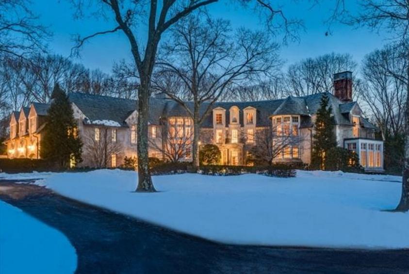 14,000 Square Foot French Tudor Mansion In Glen Head, NY
