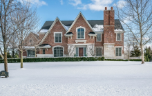$1.7 Million Brick Home In Bloomfield Hills, MI