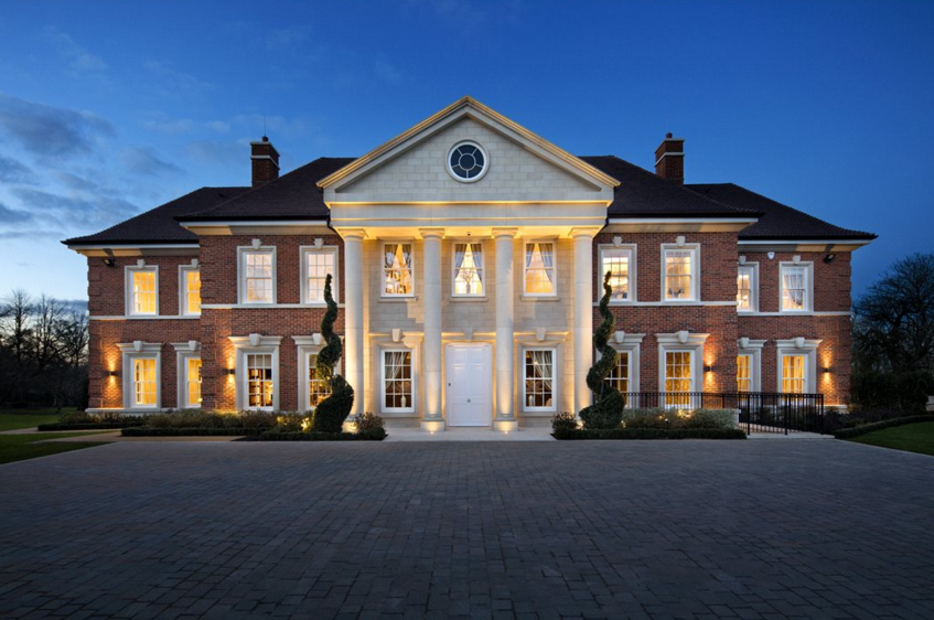Cavendish house a 21 000 square foot newly built brick for Mansion houses for sale in london