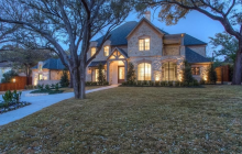 $5.199 Million Newly Built Stone Mansion In Fort Worth, TX