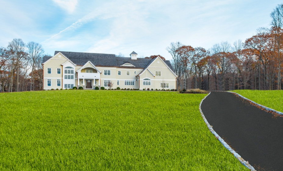 11,000 Square Foot Newly Built Shingle Style Mansion In Bedford Corners, NY