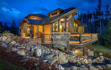 $4.2 Million Wood & Stone Home In Breckenridge, CO