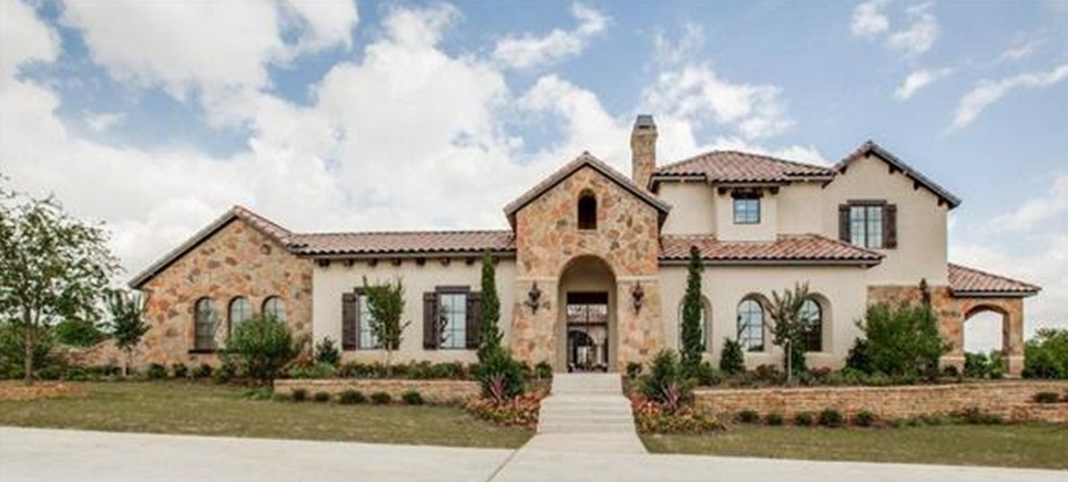 2 9 Million Newly Built Stone Amp Stucco Home In Westlake