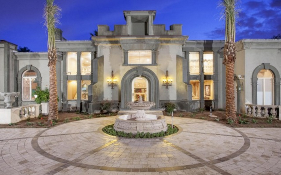 10000 Square Foot Old World Style Mansion In Phoenix AZ Homes of