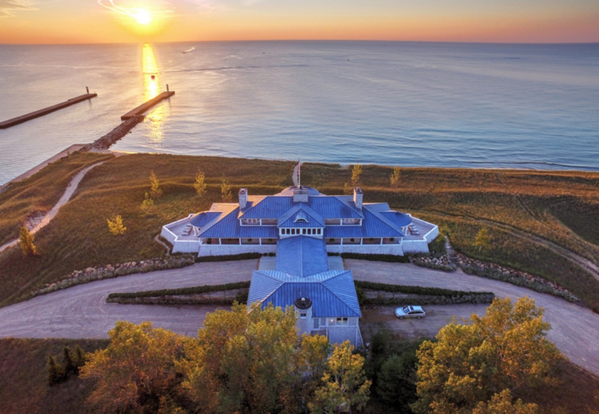 40 Million Waterfront Estate In Saugatuck Mi Homes Of