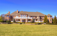 18,000 Square Foot Brick Mansion In Marlboro, NJ