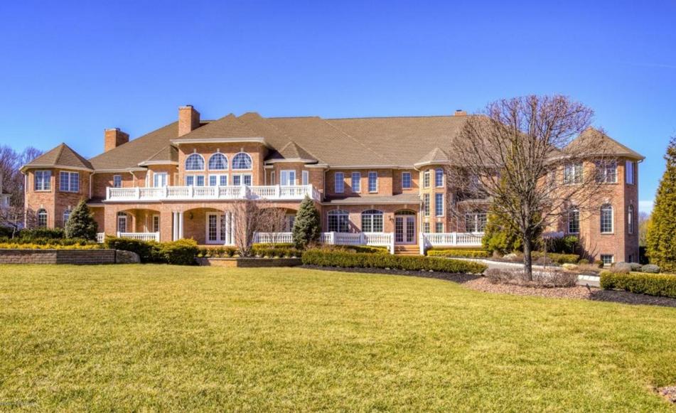 11,000 Square Foot Brick Mansion In Marlboro, NJ | Homes