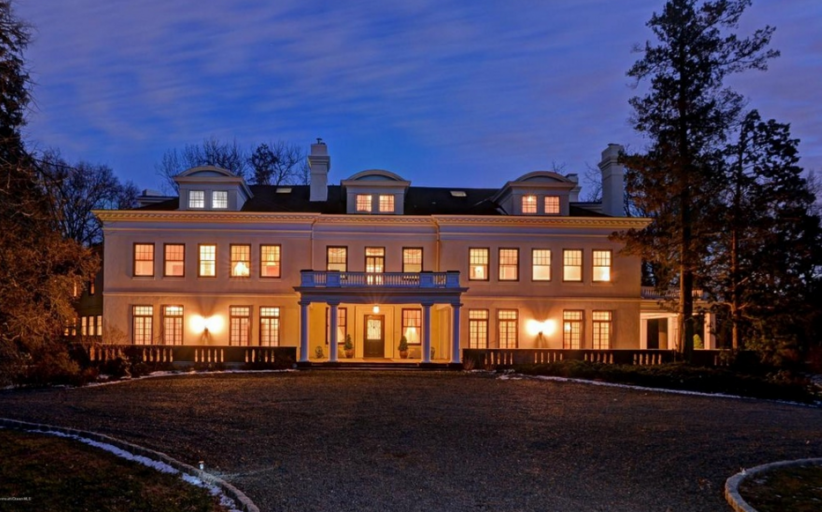 10,000 Square Foot Historic Colonial Mansion In Rumson, NJ
