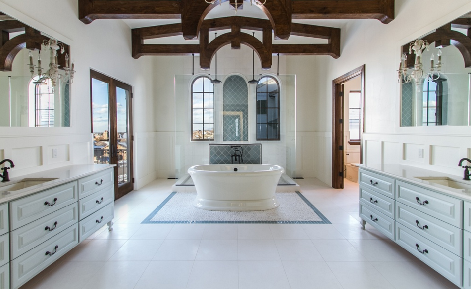 13 000 Square Foot Stone Stucco Mansion In Highlands