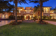 10,000 Square Foot Mediterranean Waterfront Mansion In Weston, FL
