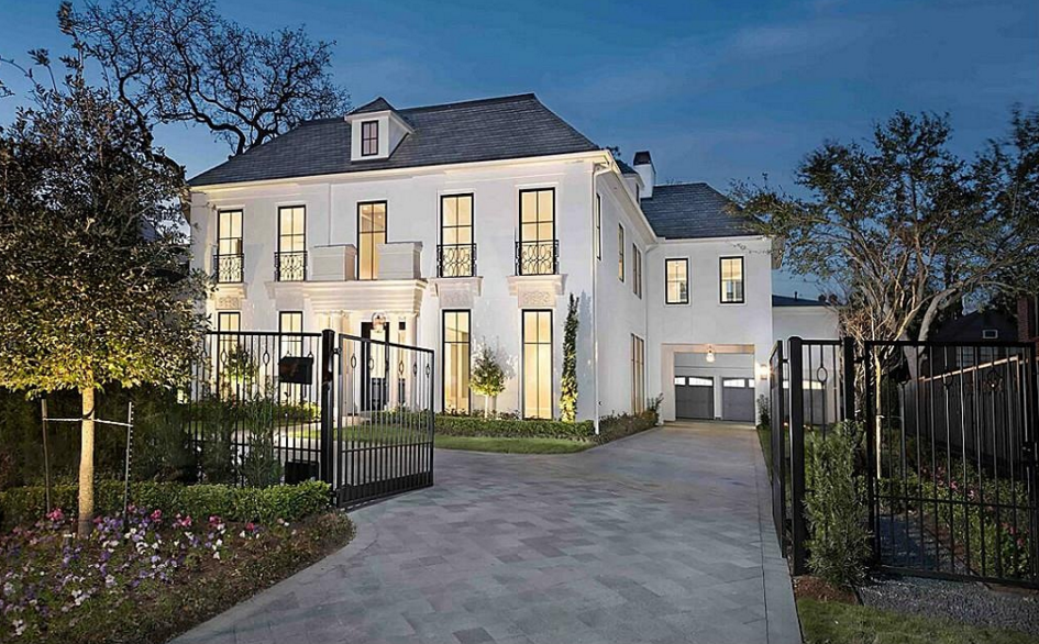 $4.49 Million Newly Built French Inspired Home In Houston, TX