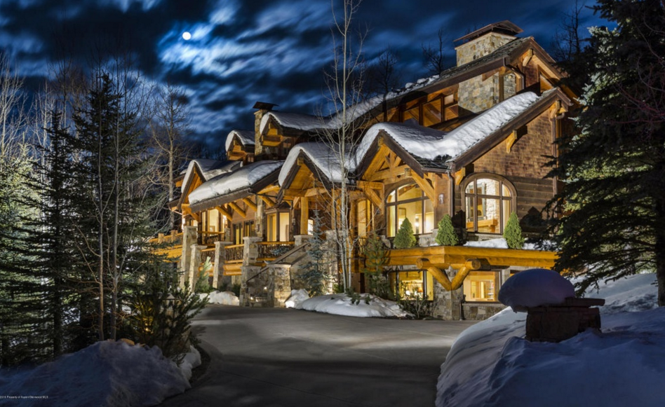 $5.495 Million Mountaintop Home In Snowmass Village, CO