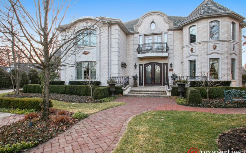 10,000 Square Foot Brick Mansion In Northbrook, IL