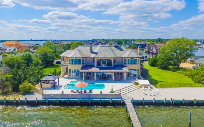 $3 Million Waterfront Home In Brick, NJ