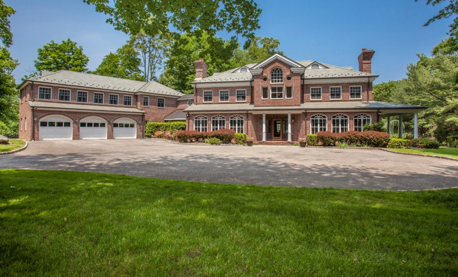 $4.45 Million Brick Georgian Colonial Home In Rye, NY