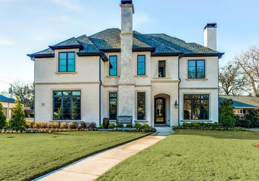 $2.89 Million Newly Built Mansion In Dallas, TX