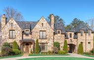 $2.995 Million Brick & Stone Mansion In Atlanta, GA