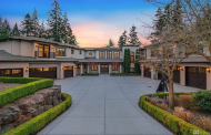 11,000 Square Foot Mansion In Clyde Hill, WA