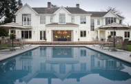 $12.95 Million Hampton's Style Clapboard Home In Atherton, CA