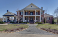 12,000 Square Foot Lakefront Brick Mansion In Franklin, TN