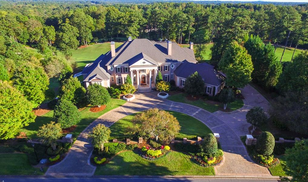 12,000 Square Foot Country Club Mansion In Alpharetta, GA