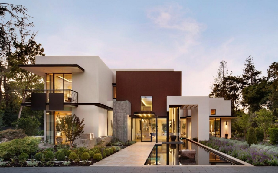 $39 Million Newly Built Contemporary Estate In Atherton, CA