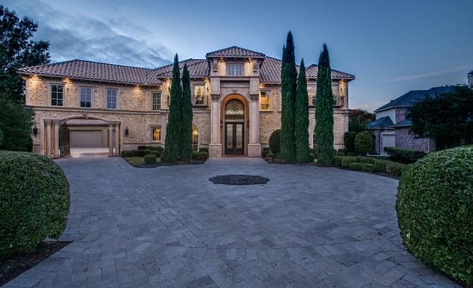 2 49 Million Brick Mansion In Frisco Tx Homes Of The Rich