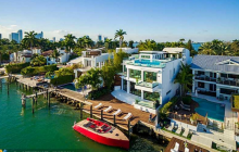 $16.95 Million Newly Built Contemporary Waterfront Home In Miami Beach, FL