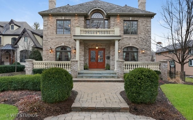 $1.8 Million Brick Home In Naperville, IL