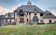 $1.5 Million Stone & Stucco Mansion In Biltmore Lake, NC