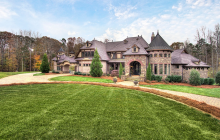 $2.6 Million French Country Mansion In Weddington, NC
