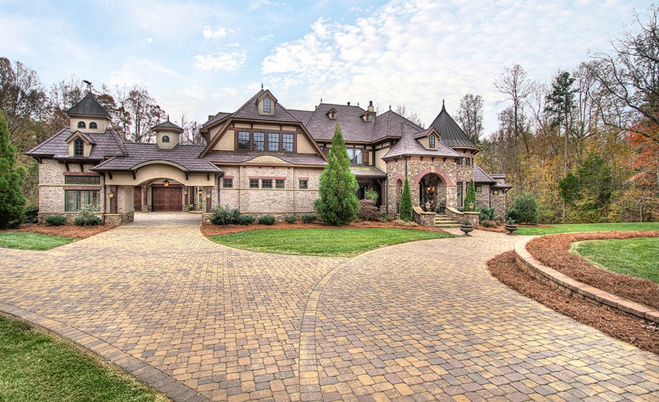 2 6 Million French Country Mansion In Weddington Nc Homes Of The Rich