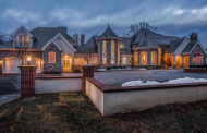 10,000 Square Foot French Inspired Stone & Stucco Mansion In New Hope, PA