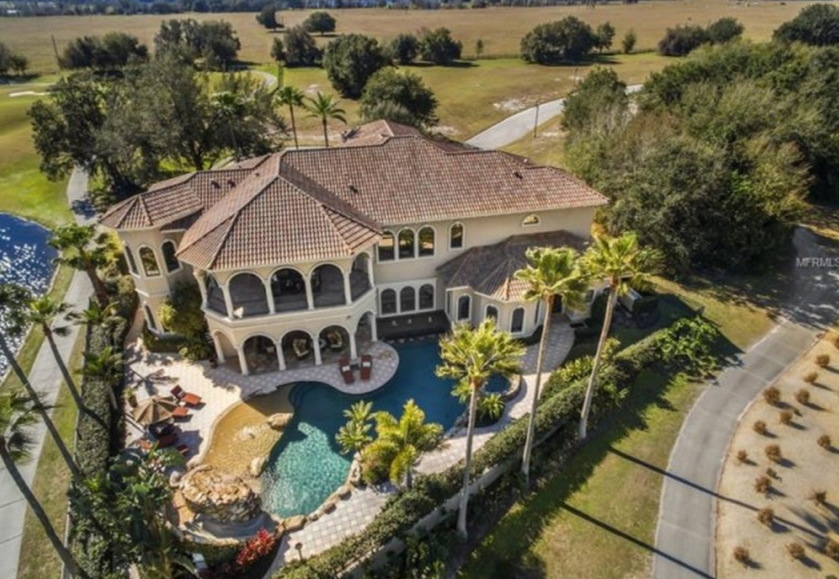 $2.95 Million Country Club Mansion In Trinity, FL