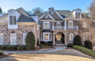 $1.6 Million Shingle & Stone Mansion In Atlanta, GA