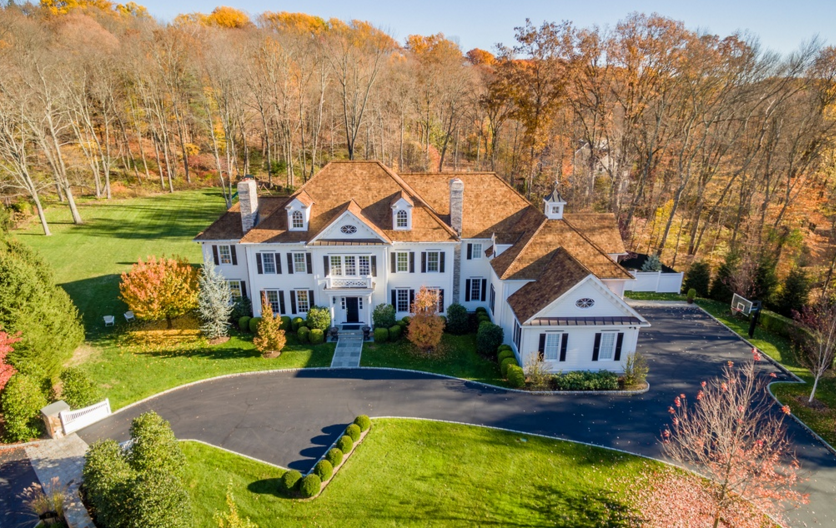 3 1 Million Colonial Mansion In New Canaan Ct Homes Of