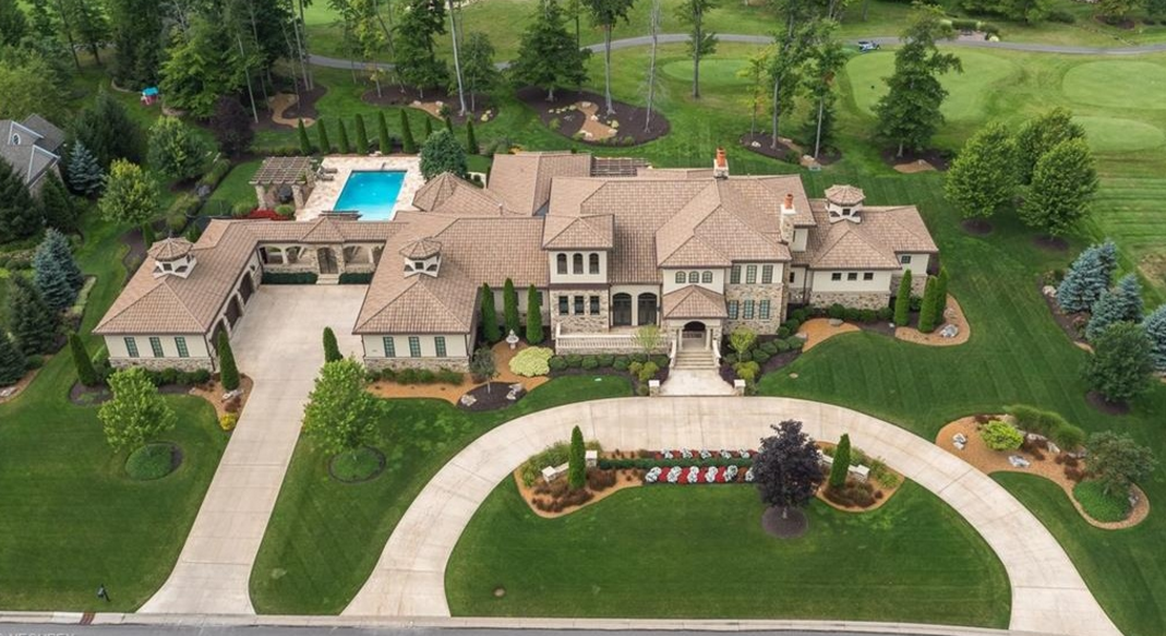 $4 Million Country Club Mansion In Aurora, OH