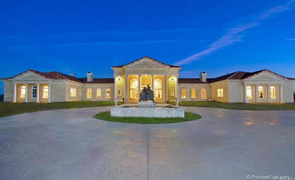10,000 Square Foot Hilltop Mansion In Murrieta, CA