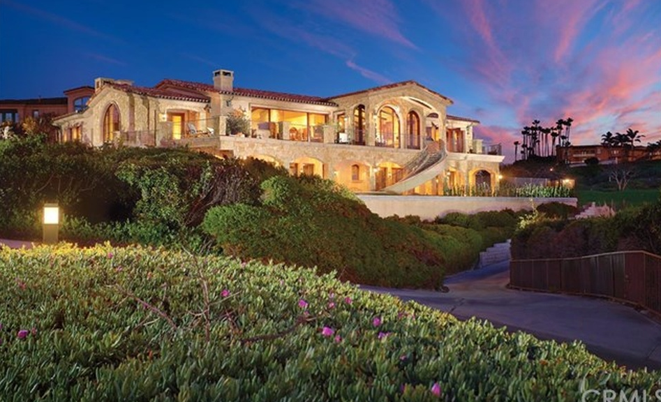 $16.9 Million Tuscan Inspired Mansion In Dana Point, CA