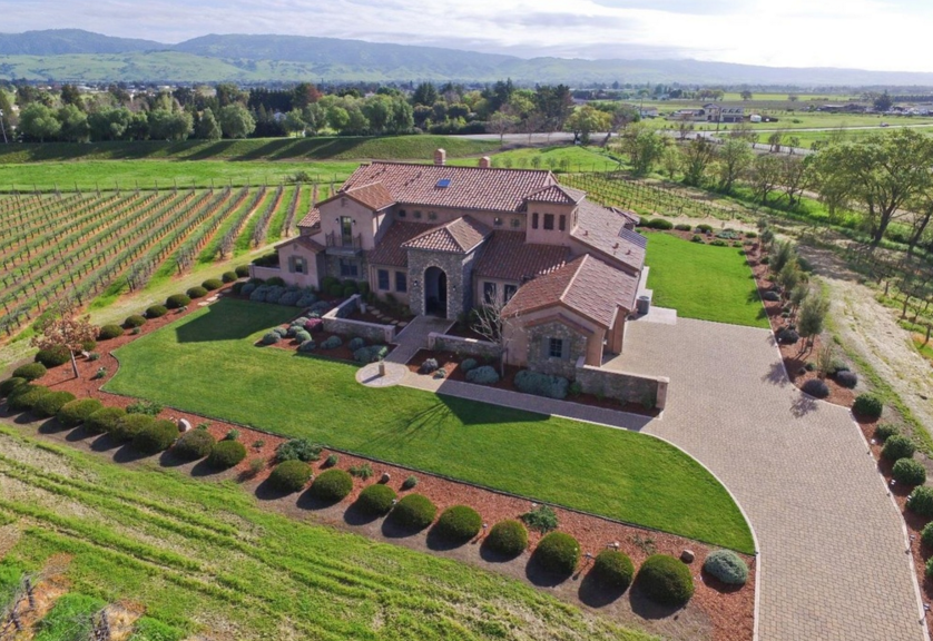 $2.895 Million Mediterranean Home In San Martin, CA